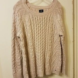 American Eagle. Super soft sparkly sweater